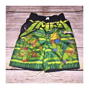 Teenage Mutant Ninja Turtles swim trunks size 3T
